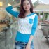 BAJU WANITA KOREA MODEL SWEATER SIMPEL