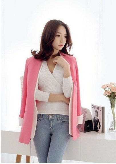 BLAZER KOREA MODIS CANTIK IMPORT 2016 FASHION