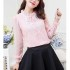 BAJU ATASAN MODEL SIMPLE PINK 2016