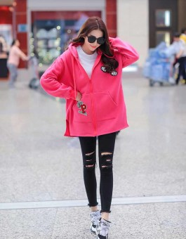 JAKET PINK MICKEY MOUSE LUCU 2016