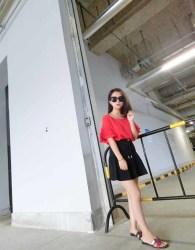 baju-atasan-merah-cantik-terbaru-2016-korea