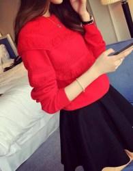 baju-sweater-merah-import-2016