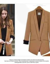 blazer-kerja-coklat-simple-elegant