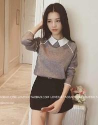 blouse-sweater-panjang-korea-cantik-2016