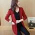 cardigan-blazer-merah-cantik-terbaru