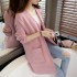 cardigan-sweater-pink-cantik-casual-korea