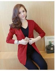 jual-cardigan-blazer-merah-cantik-terbaru