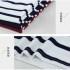 kaos-wanita-stripes-putih-simple-fashion