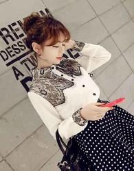 kemeja-putih-renda-cantik-simple-korea