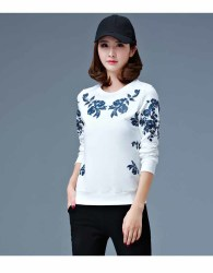 sweater-putih-motif-bunga-cantik-terbaru