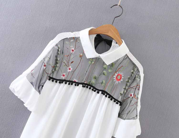BLOUSE PUTIH MODEL TERBARU MURAH 2017
