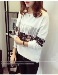 SWEATER PUTIH MODEL CANTIK TERBARU IMPORT FASHION