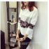 SWEATER PUTIH MODEL CANTIK TERBARU IMPORT MODIS