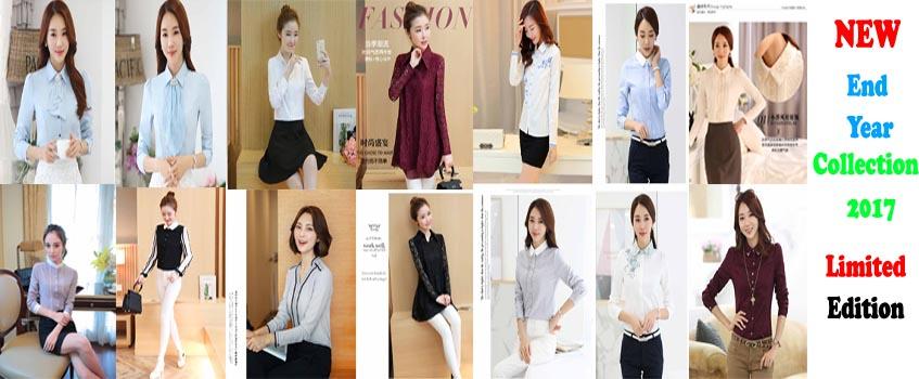 Toko Baju Online Jual Kemeja Wanita Baju Korea Atasan Wanita